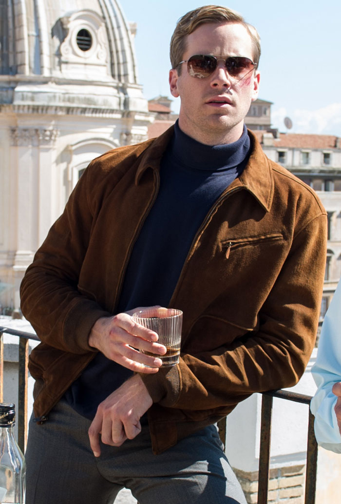Image result for armie hammer man from uncle